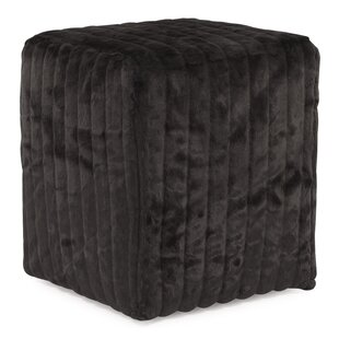 Bancroft Woods Cube Ottoman by Red Barrel Studio
