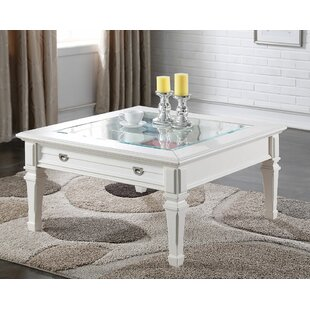 Rosecliff Heights Little Sodbury Coffee Table with Storage