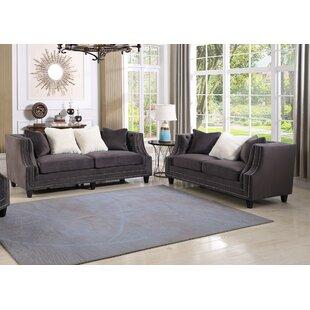 Canora Grey Jardine 2 Pieces Living Room Set