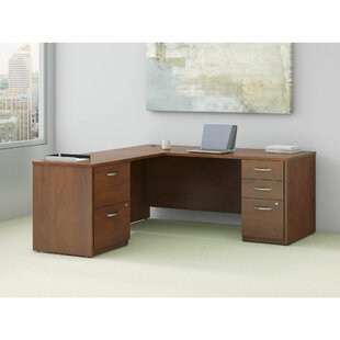Series C Elite L-Shape Executive Desk by Bush Business Furniture Great price