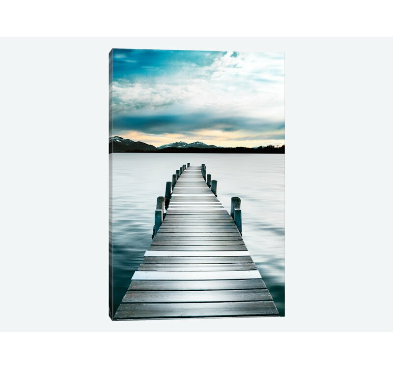 East Urban Home Jetty Photographic Print On Canvas Reviews Wayfair