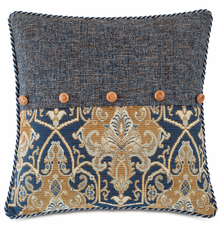 Eastern Accents Arthur Ochre Throw Pillow Wayfair