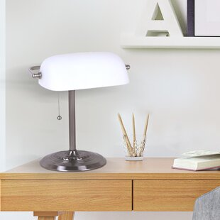Affordable Amann 13.5 Bankers Lamp By Winston Porter