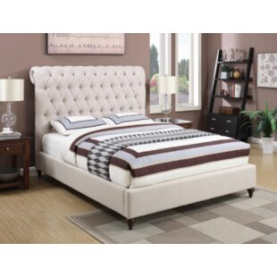 Bodhi Upholstered Sleigh Bed by DarHome Co 2019 Sale