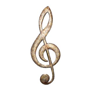 Music Notes Metal Wall Art Wayfairca