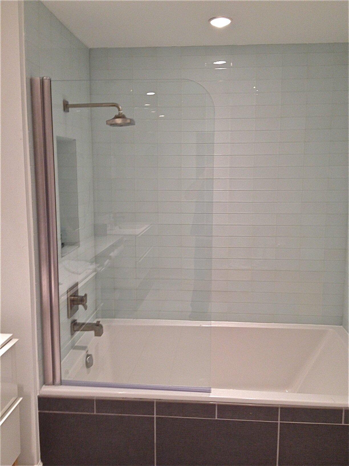 Ark Showers  Pivot Frameless Tub Door Wayfair