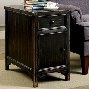 Gracie Oaks Beeney End Table with Storage