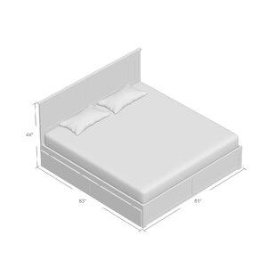 Beachcrest Home Graham King Storage Platform Bed
