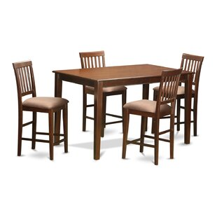 5 Piece Counter Height Dining Set by Wooden Importers Today Only Sale