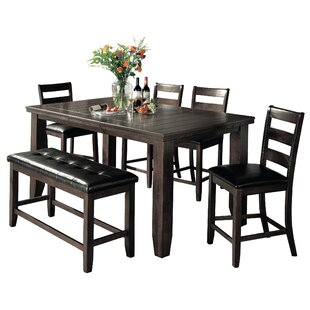 Bridlewood 6 Piece Dining Set Loon Peak