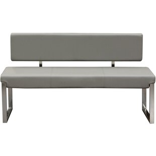 Ginnie Faux Leather Bench