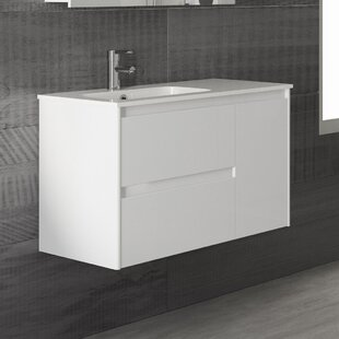 Ambra 36 Wall Mounted Single Bathroom Vanity Set by WS Bath Collections