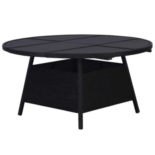 Review Tamensourt Rattan Dining Table