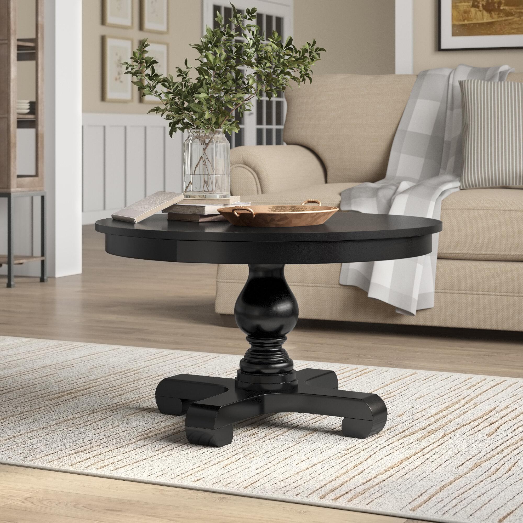 Birch Lane Suzana Pedestal Coffee Table Reviews Wayfair Ca