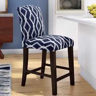 Edford Arched Crossweave 26 Bar Stool Wrought Studio