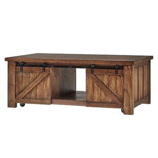 Jordyn Coffee Table with Storage by