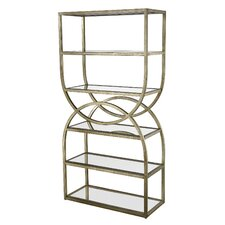 Rister Intersecting Rounds 72 Etagere Bookcase by Willa Arlo Interiors