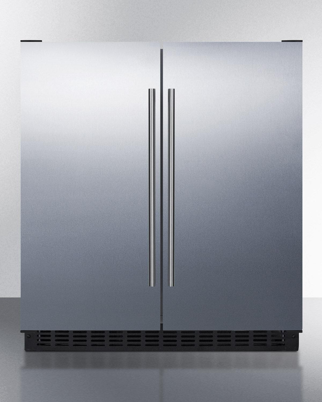 Summit Liance 29 5 Inch 4 Cu Ft Convertible Undercounter Refrigerator With Freezer Wayfair