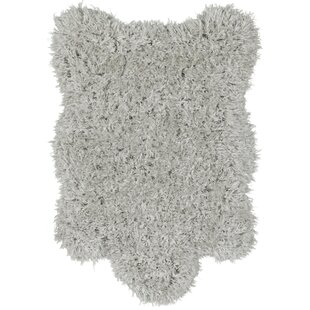 Costantino Soft High Pile Gray Area Rug by Wrought Studio