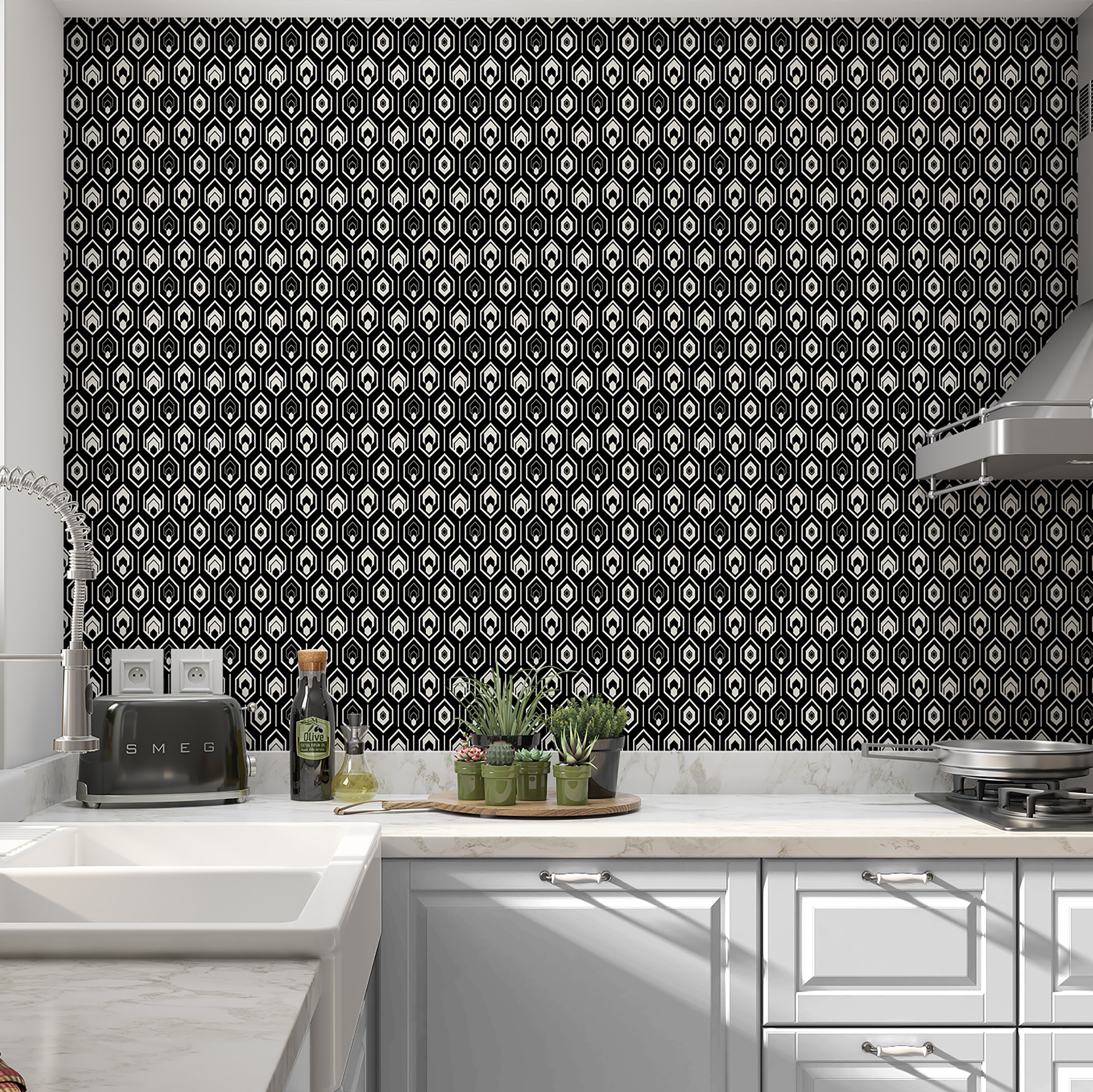 Corrigan Studio Schutz Farmhouse Peel And Stick Wallpaper Panel Wayfair