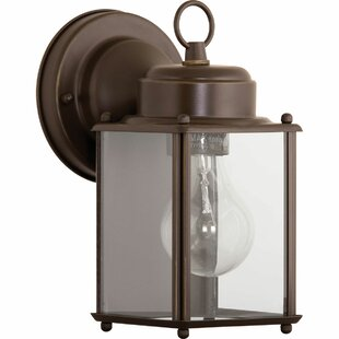 Bayern 1-Light Outdoor Wall Lantern By Andover Mills Outdoor Lighting