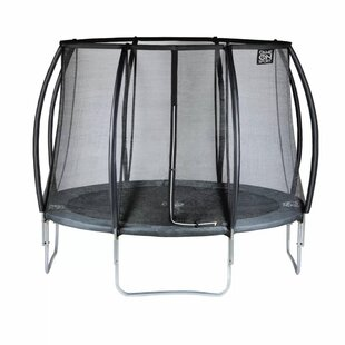 Game On Sport 8' Backyard: Above Ground Trampoline With Safety Enclosure By Freeport Park