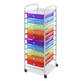 10 Drawer Storage Chest  sc 1 st  Wayfair & 10 Drawer Storage Cart | Wayfair
