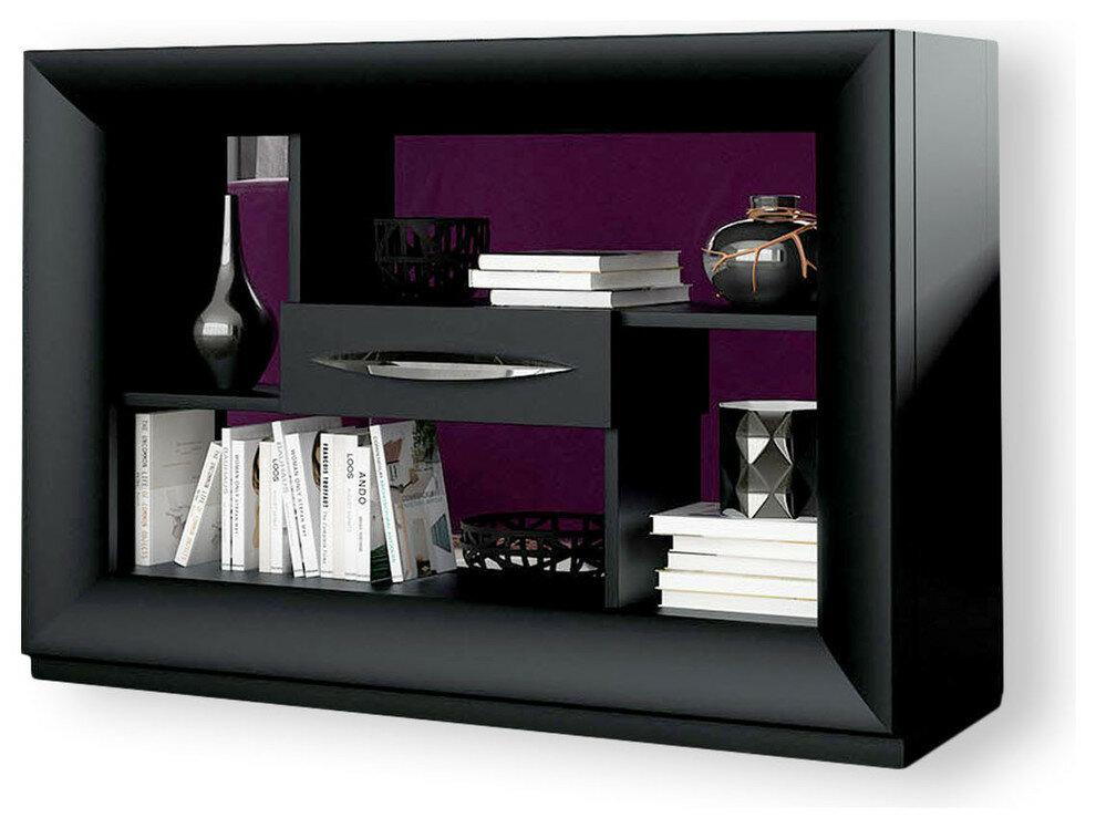 Orren Ellis Jeramiah Geometric Bookcase Wayfair