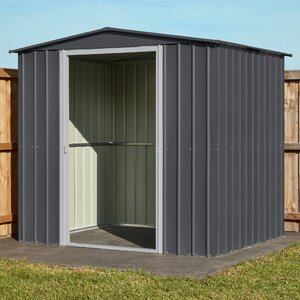 7 ft. 8 in. W x 5 ft. 9 in. D Metal Storage Shed