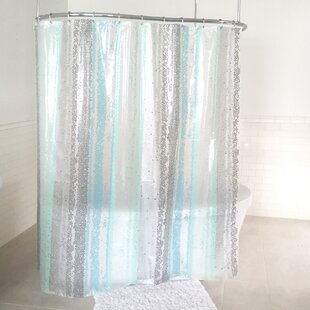 Purchase Wesley PEVA 4G Disco Vinyl Shower Curtain Liner By Ebern Designs