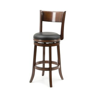 Shiloh 29 Swivel Bar Stool by Alcott Hill 2019 Sale