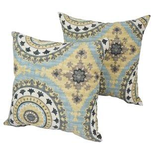 Designer Indoor Outdoor Throw Pillow Set Of 4