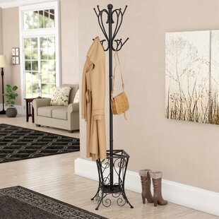Three Posts Hennessey Umbrella Holder Coat Rack