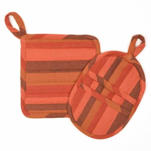 Mayamamweavers Mayamam Weavers Fair Trade 2 Piece Potholder And Oven Mitt Set Wayfair Ca