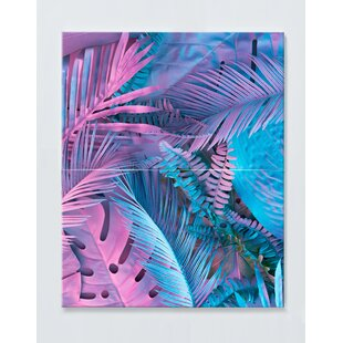 Palm Tree Magnetic Wall Mounted Cork Board By Ebern Designs