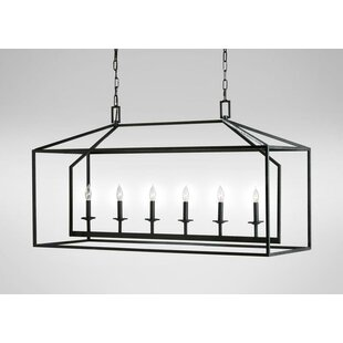 Gracie Oaks Zager 6-Light Kitchen Island Pendant