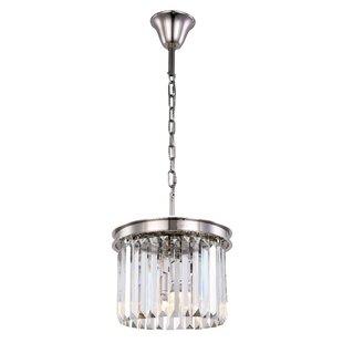 Lavinia 3-Light Crystal Pe..