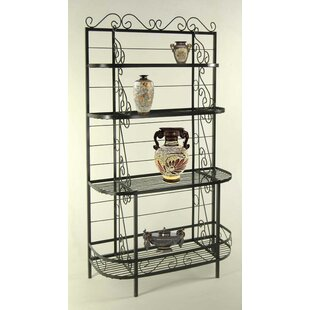Red Barrel Studio Karol Wrought Iron Baker's Rack