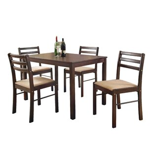Portal 5 Piece Dining Set by Winston Porter