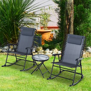 Shultz Outdoor 3 Piece Conversation Set