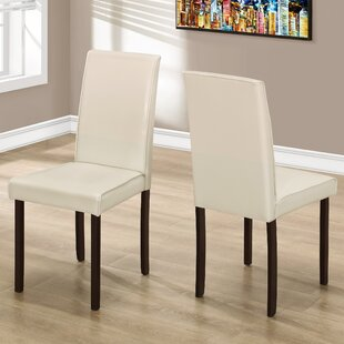 Side Upholstered Dining Chair (Set of 2) Monarch Specialties Inc.