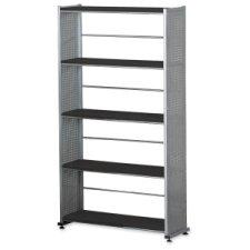 Mayline Group Accent H Four Shelf Shelving Unit