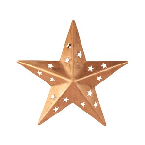 Star Wall Décor With Cutouts (Set Of 4) Part 97