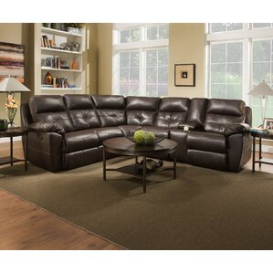 Barnett Reclining Sectional by Alcott Hill