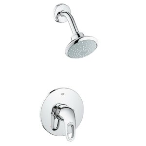 Eurostyle 2 Piece Shower System Set