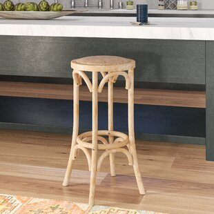 High-End Kaci Rattan Seat Backless 30 Bar Stool by Mistana Reviews (2019) & Buyer's Guide