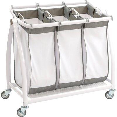 Large Laundry Sorter Fascinating Seville Classics 60 Bag Tilt Laundry Sorter Reviews Wayfair