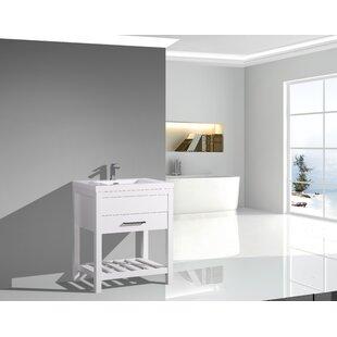 Reviews Godalming 30 Single Bathroom Vanity Set ByEbern Designs