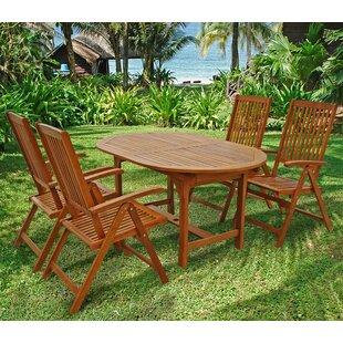 Sun Shine 4 Seater Dining Set Image