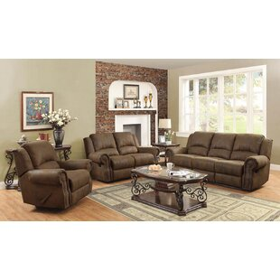 Best Deals Haslingden 3 Piece Reclining Living Room Set by Darby Home Co Reviews (2019) & Buyer's Guide